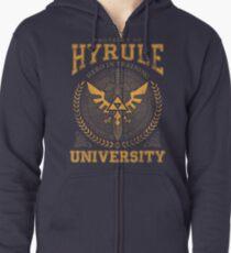 Hyrule University Zipped Hoodie