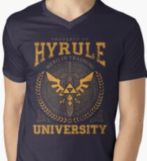 Hyrule University Men's V-Neck T-Shirt