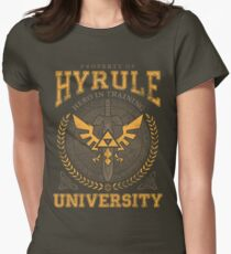 Hyrule University Women's Fitted T-Shirt