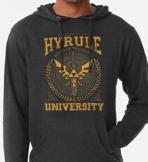 Hyrule Universität Leichter Hoodie
