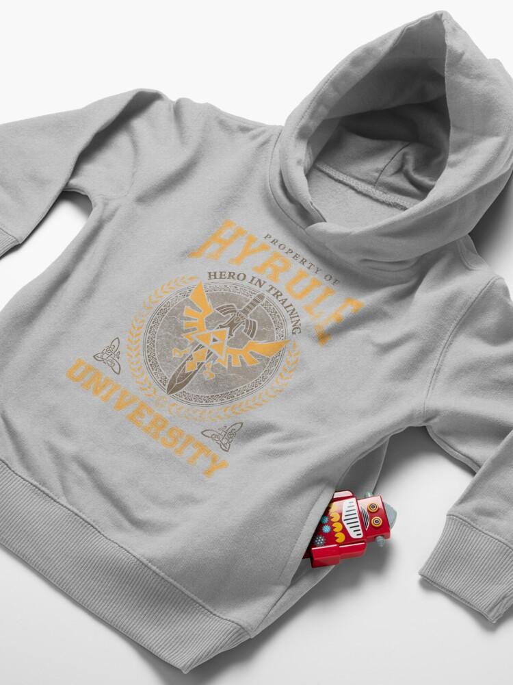 Alternate view of Hyrule University Toddler Pullover Hoodie