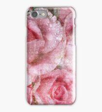 Vintage Rose Letters iPhone Case/Skin
