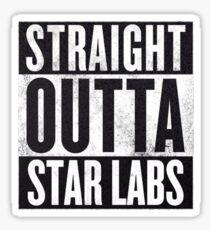 Straight Outta Star Labs Sticker