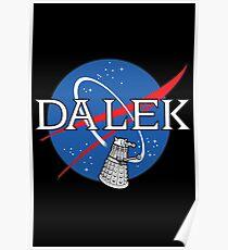 Dalek Space Program Poster