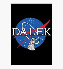 Dalek Space Program Photographic Print