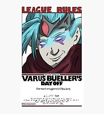 Varus Bueller's Day Off Photographic Print