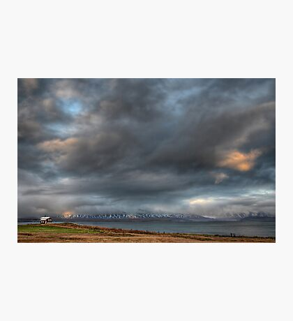 Lone House, Iceland Photographic Print