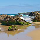 Rocky coast at Malacoota, Victoria, Australia. by johnrf