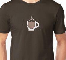 Coffee Breakdown Unisex T-Shirt