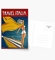Vintage Italian Travel Poster Postcards