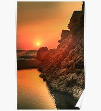 Sunset - Nas, Ikaria, Greece Poster