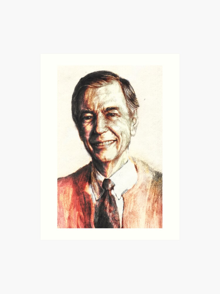 Mr  Rogers   Art Print