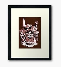 LORD OF THE TIME Framed Print