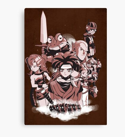 LORD OF THE TIME Canvas Print