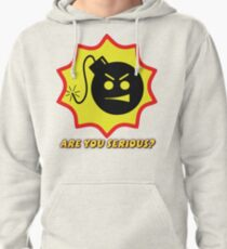 Are you Serious? Pullover Hoodie