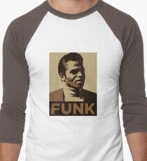 James Brown: FUNK Men's Baseball ¾ T-Shirt