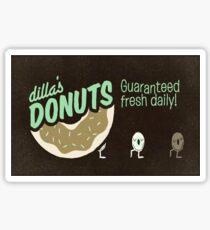 Dilla's Donuts Sticker