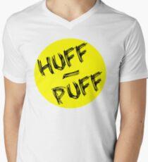 Huff Puff Mens V-Neck T-Shirt