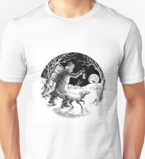 Where shall the 'nighted Showman go? T-Shirt