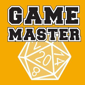 Game Master t-shirt by DanVader