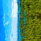 Yellowstone National Park Abstract Impressionism 6 by pjwuebker
