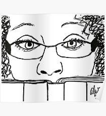 Reading Me! - Digital Sketch Poster