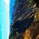 Waimea Canyon Abstract Impressionism by pjwuebker