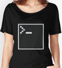 Pixel Shell Women's Relaxed Fit T-Shirt