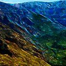Waimea Canyon 13 Abstract Impressionism by pjwuebker
