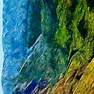 Waimea Canyon 10 Abstract Impressionism by pjwuebker