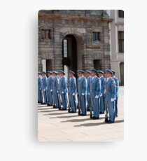 Changing of the guard. Canvas Print
