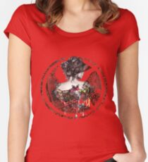 The Hunger Games. Women's Fitted Scoop T-Shirt