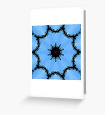 Ornamental metal arch kaleidoscope Greeting Card