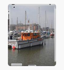 Survey Boat iPad Case/Skin