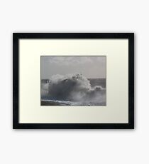 Nature wins  Framed Print