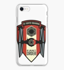 First Order Fighter Squadron Emblem iPhone Case/Skin