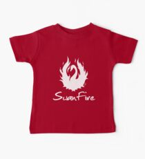 OUAT - SwanFire (white) Baby Tee
