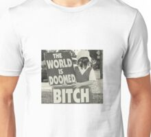 The World Is MF DOOMED Unisex T-Shirt