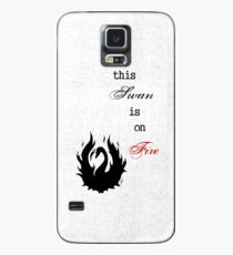 This SWAN is on FIRE Case/Skin for Samsung Galaxy