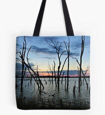 Twisted Twilight Tote Bag