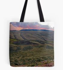 Sunset over Red Canyon Tote Bag