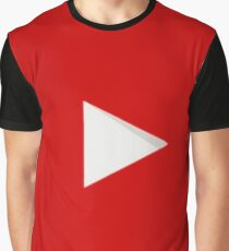 YOUTUBE LOGO Graphic T-Shirt