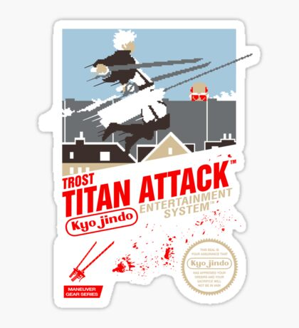 Trost Titan Attack Sticker