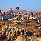 Balloon Ballet over Cappadocia by Hercules Milas