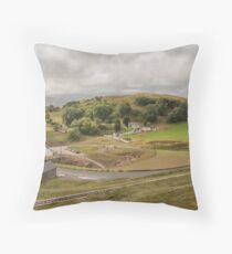 Llandudno Landscape Throw Pillow