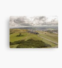 Llandudno Landscape Metal Print