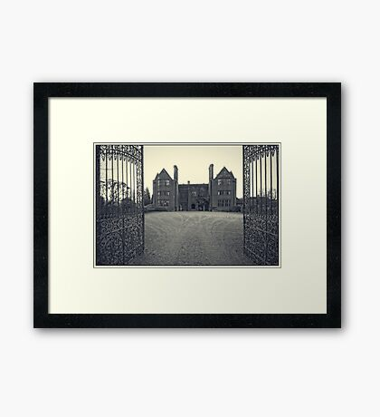 Hotel entrance Framed Print