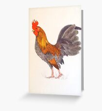 Cock-a-doodle Greeting Card