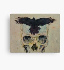 Black Crow Canvas Print