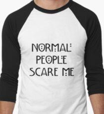 Scare Me Men's Baseball ¾ T-Shirt